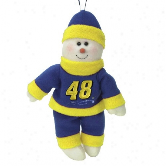 Jimmie Johnson 10-inch Snowflake Friend Plush
