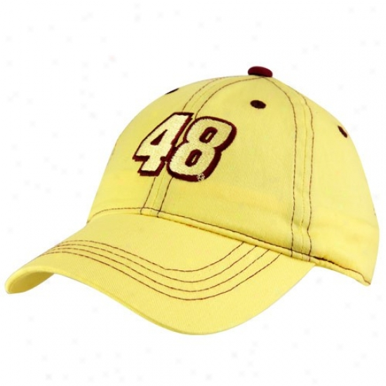 Jimmie Johnson Merchandise: #48 Jimmie Johnsin Toddler Gold Adjustable Hzt