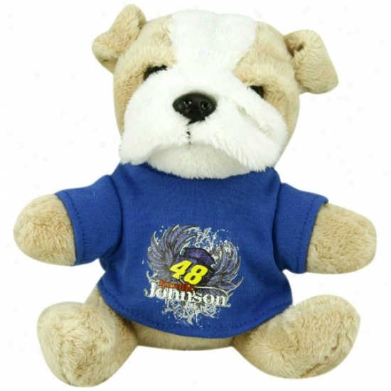 Jimmie Johnson Plush Dog