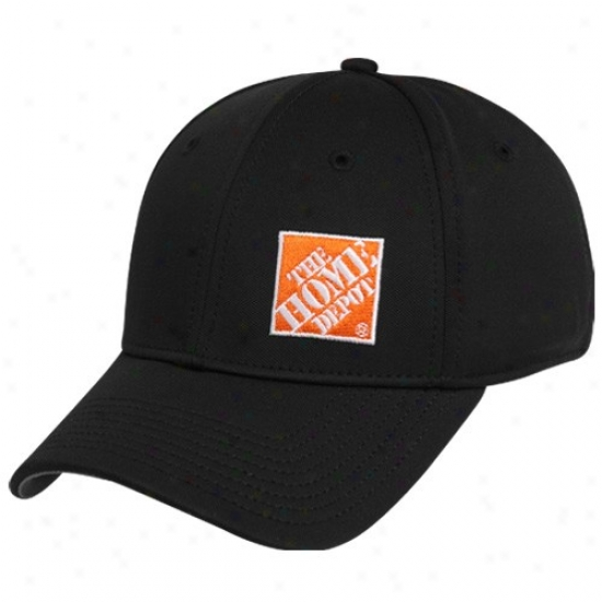 Joey Logano Gear: #20 Joey Logano Black Series A-flex Hat