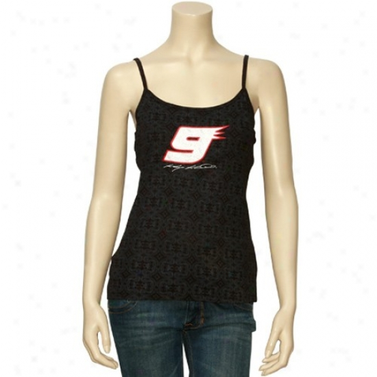 Kasey Kahne Apparel: Kasey Kahne Ladies Black Treasured Tank Top