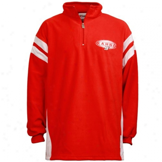 Kasey Kahne Stuff: #9 Kasey Kahne Red Ahead Of The Rest 1/4 Zip Sweatshirt