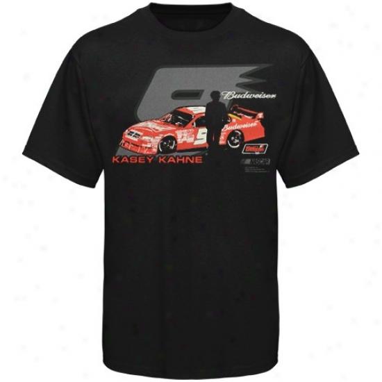 Kasey Kahne T-shirt : #9 Kwsey Kahne Black Race 2 Win T-shirt