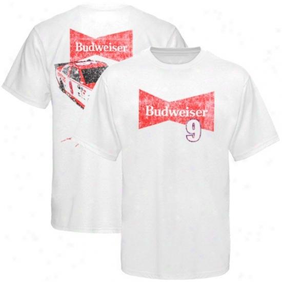 Kasey Kahne Tshirt : Kasey Kahne White Thrwoback Tshirt