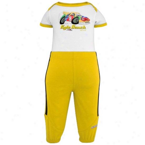 Kyle Busch Hoody : Kyle Busch Newborn Pit Stop Kit 4-piece Gift Set