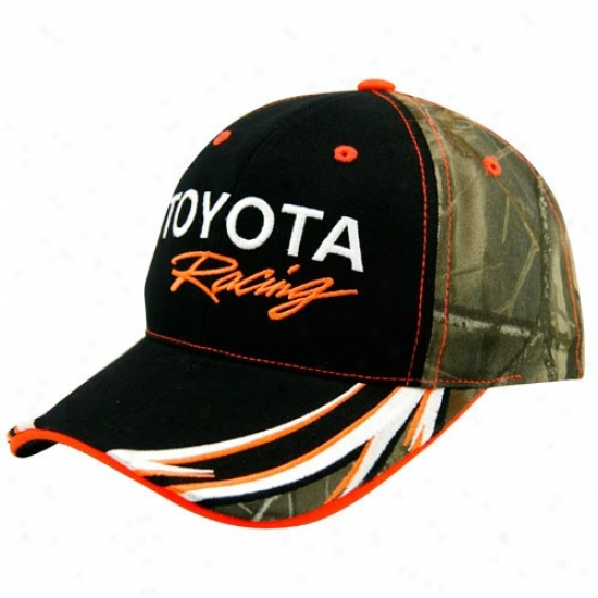 Kyle Busch Merchandise: Toyota Racing Camo Adjustable Hzt