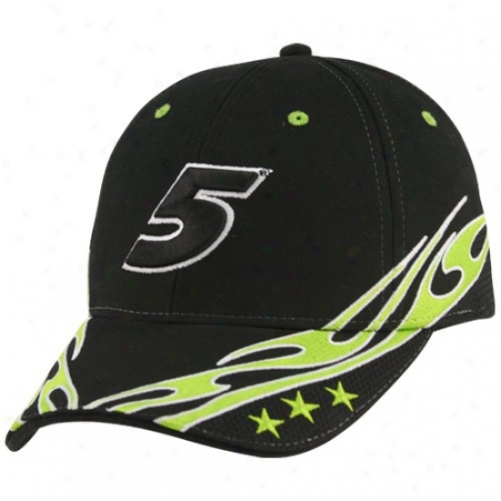 Mark Martin Gear: #5 Mark Martin Black Element Adjustable Hat