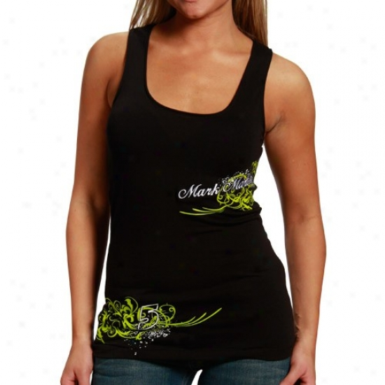 Mark Martin Shirt : #5 Mark Martin Ladies Murky Vine Tank Top