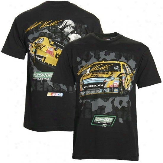 Matt Kenseth Attire: Matt Kenseth Black Breakout Performance T-shirt