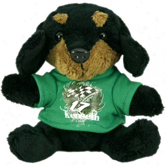 Matt Kenseth Plush Dog