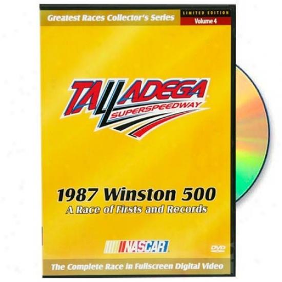 Nascar 1987 Winston 500 Complete Race Dvd