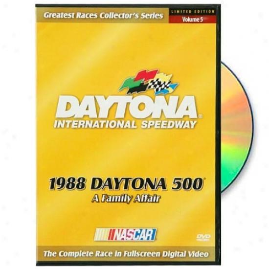 Nascar 1988 Daytona 500 Complete Race Dvd