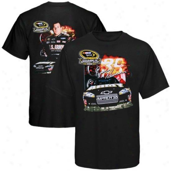 Ryan Newman Shirt : #39 Ryan Newman Black Chase For The Nascar Sprint Cup Shirt
