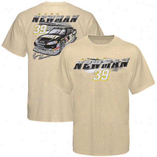 Ryan Newman T Shirt : Ryan Newman Youth Tan Banking T Shirt