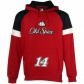 Tony Stewart Swetshirts : #14 Tony Stewart Red Down Force Pullover Sweatshirts