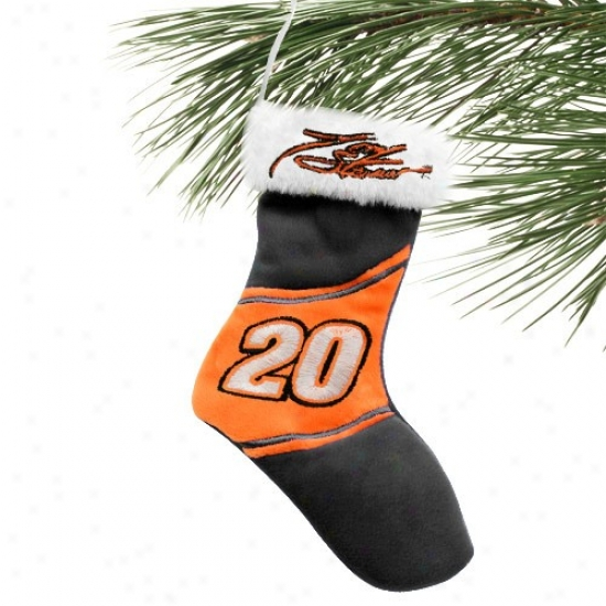 Tony Stewart 7-inch Plush Stocking Ornament