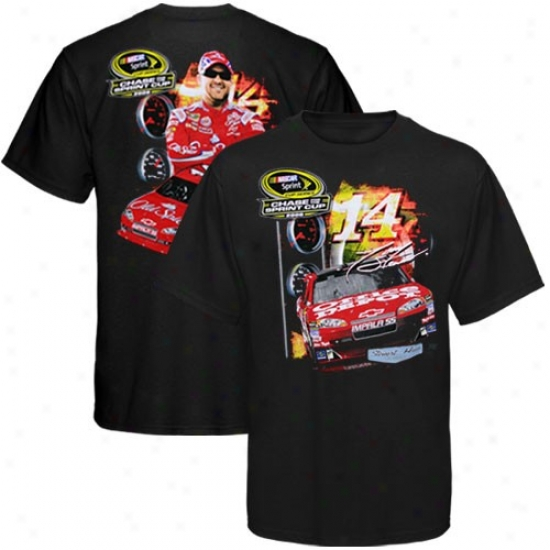 Tony Stewart Appwrel: #14 Tony Stewart Dark Chase For The Nascar Sprint Chalice T-shirt