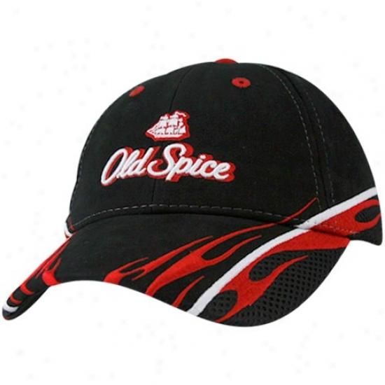 Tony Stewart Gear: #14 Tony Stewsrt Black Sponsor Adjustable Hat
