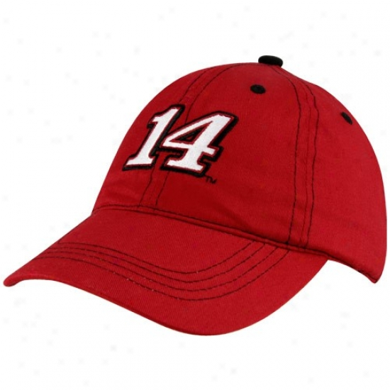 Dunce Stewart Gear: #14 Tony Stewart Toddler Red Adjustable Hat