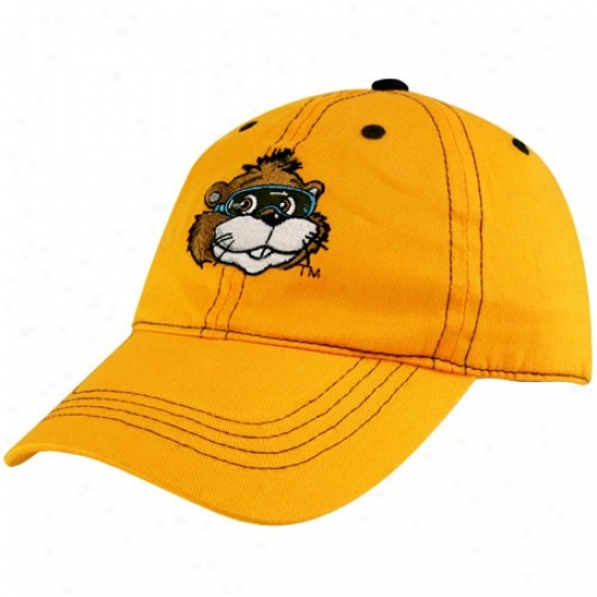 Tony Stewart Hat : Nascar Gold Toddler Digger Character Adjustable Hat