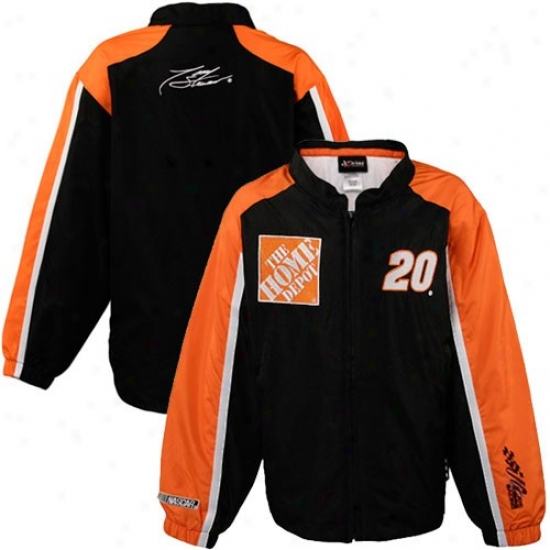 Dunce Stewart Jackets : Tony Stewart Youth Black Track Full Zip Jackets