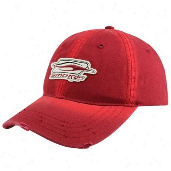 Tony Stewart Merchandise: #14 Toy Stewart Red Reek Sandblaster Adjustable Hat