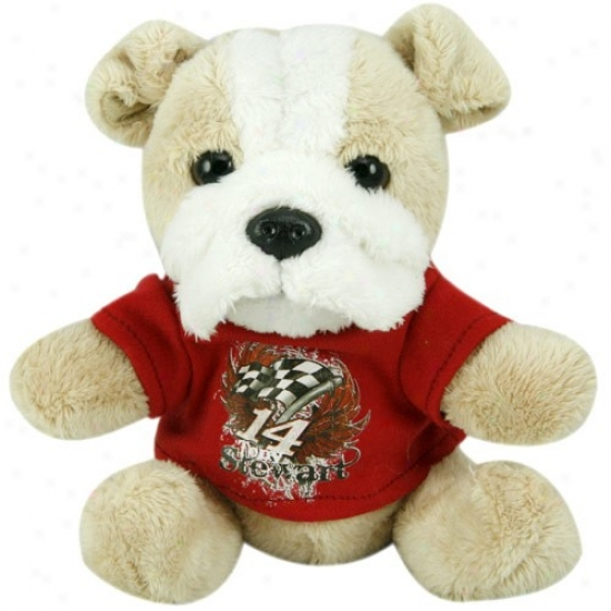 Tony Stewart Plush Dog