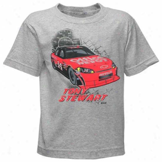 Tony Stewart Shirts : #14 Tony Stewart Preschool Ash In The Gulf Shirts