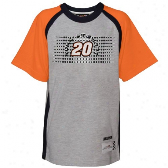 Tony Stewart Shirts : Dunce Stewart Youth Ash Speedway Shirts