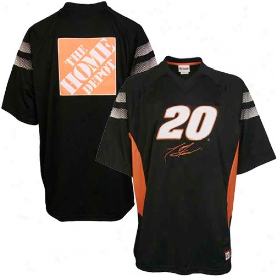 Tony Stewart T-shirt : Tony Stewart Black Absolute Speed T-shirt