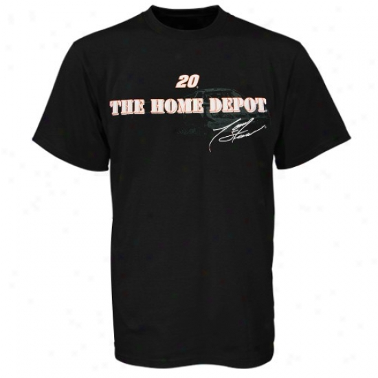 Tony Stewart Tees : Tony Stewart Black Match Up Tees
