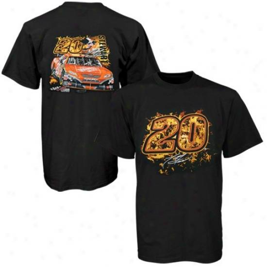 Tony Stewart Tshirts : Dunce Stewart Black Ultimate Experience Tshirts