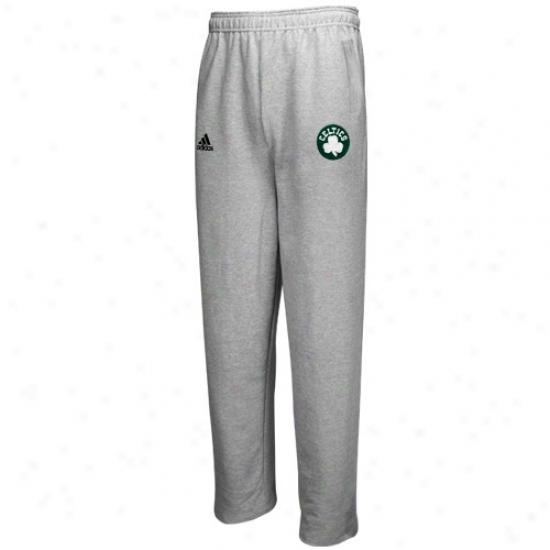 Adidas Boston Celtics Ash Full Color Logo Sweatpants