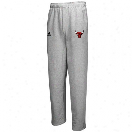 Adidas Chicago Bulsl Ash Comprehensive Color LogoS weatpants