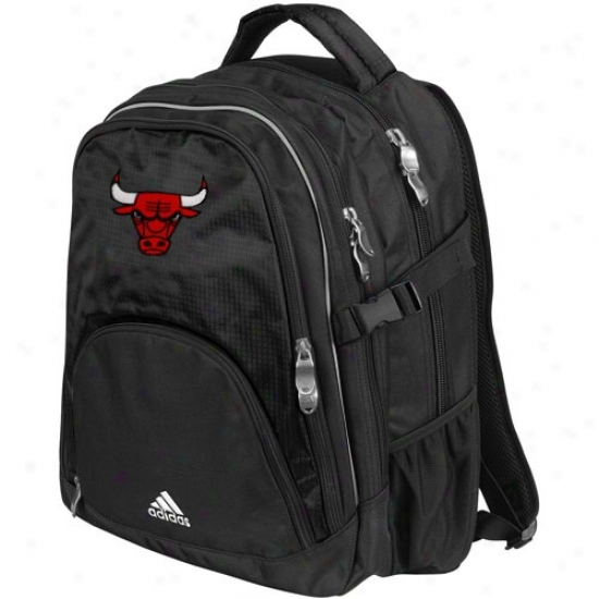 Adjdas Chicago Bulls Black Campus Backpack