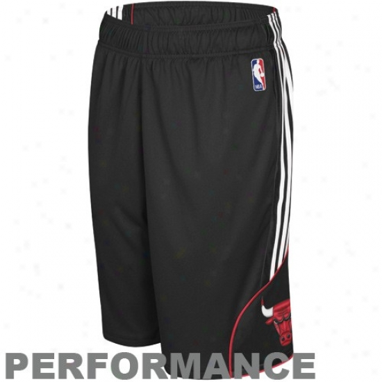 Adidas Chicago Bulls Black Dream Performance Shorts