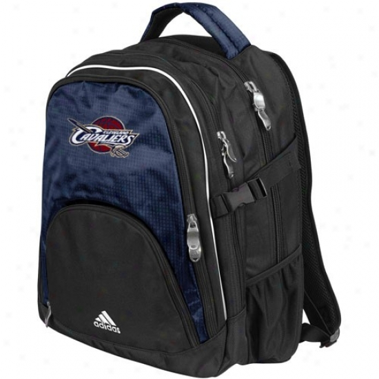 Adidas Cleveland Cavaliers Navy Blue Campus Backpack