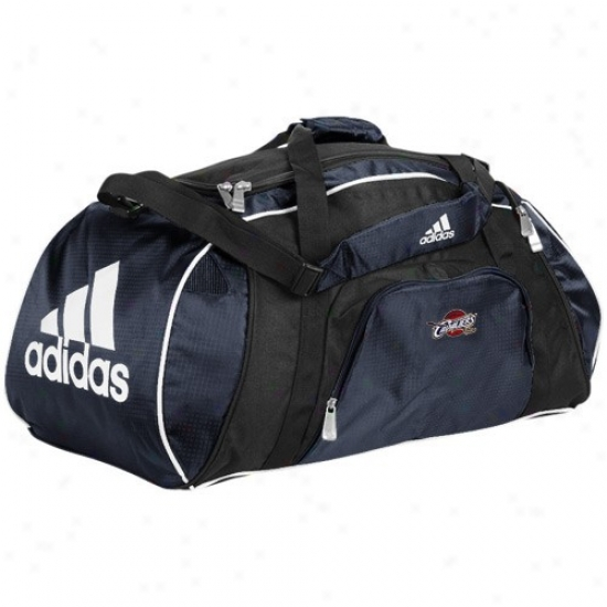 Adidas Cleveland Cavaliers Navy Blue Team Logo Gym Duffel Bag