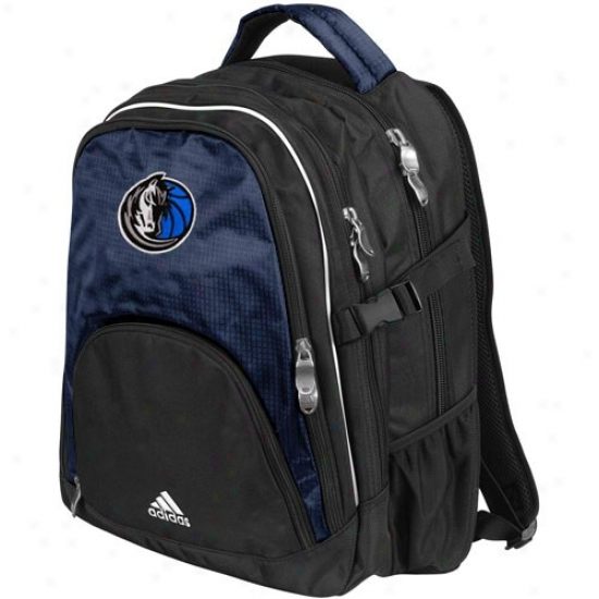 Afidas Dallas Mavericks Navy Livid Campus Backpack