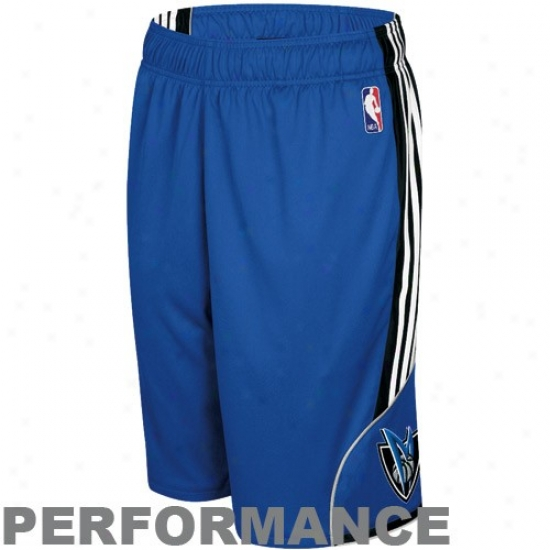 Adidas Dallas Mavericks Royal Blue Revery Performance Shorts