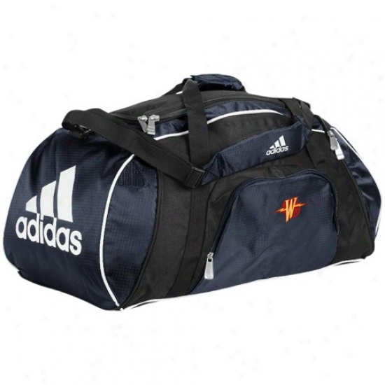 Adidas Golden State Warriors Navy Blue Team Logo Gym Duffel Bag