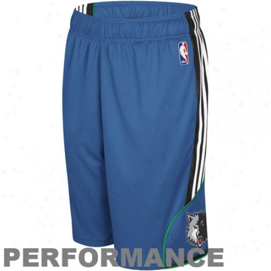 Adidas Minnesota Timberwolves Light Blue Dream Playing Sorts