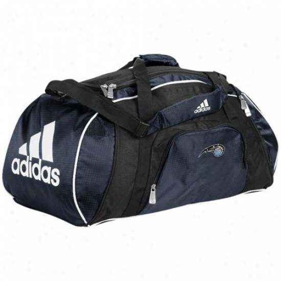 Adidas Orlando Magic Navy Blue Team Logo Gym Duffel Bag