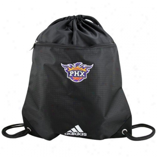 Adidas Phoenix Suns Black Nba Logo Gym Sack