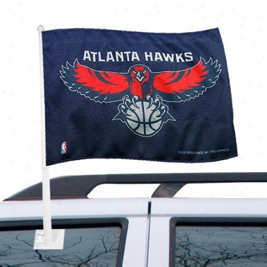 Atlanta Hawk Banner : Atlanta Hawk Car Banner