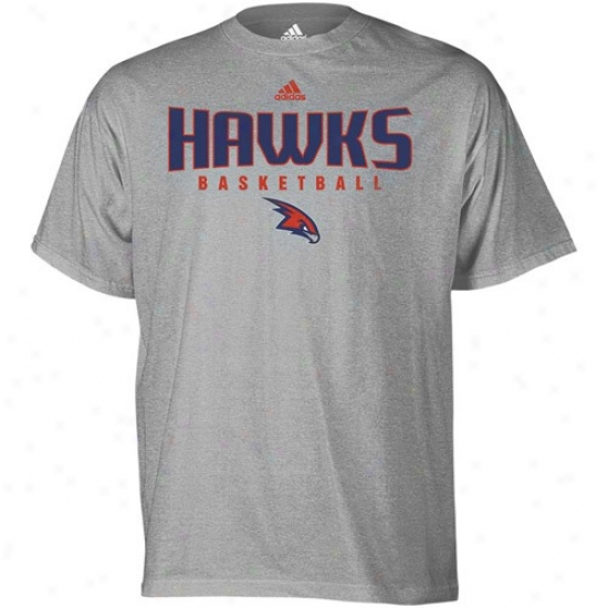 Atlanta Hawk Tshirt : Adidas Atlanta aHwk Ash Absolute Tshirt