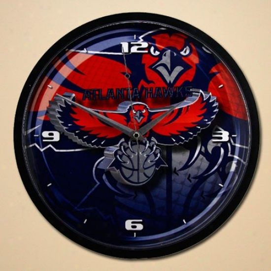 Atlanta Hawks 12'' Wall Clock
