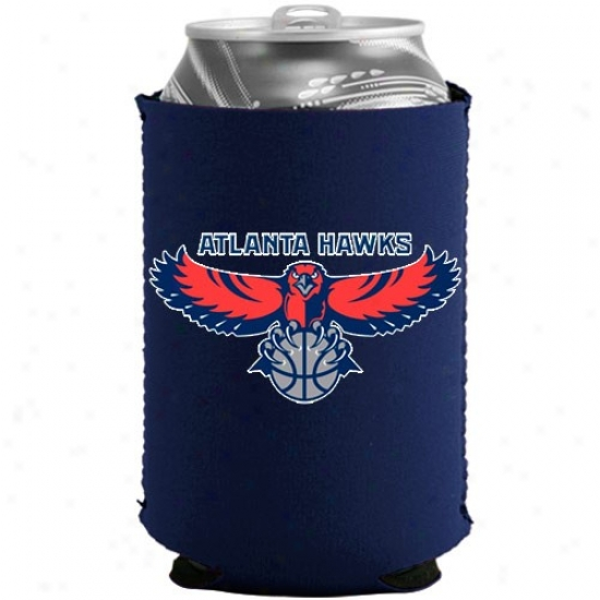 Atlanta Hawks Navy Blue Collapsible Can Coolie