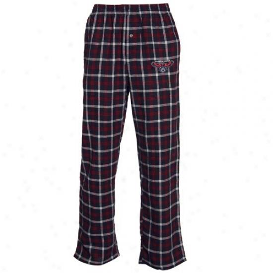Atlanta Hawks Navy Blue Tailgate Pajama Pants