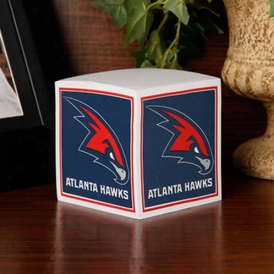 Atlanta Hawks Note Cube